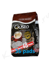 Coffee pads (pods) Gusto Dark 48 pads