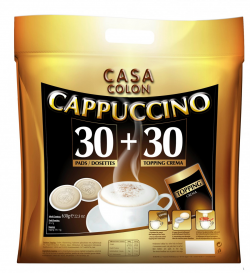 Casa Colon Capuchino 30 Pads +30 toppings.